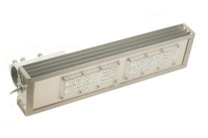 Anwendungsbeispiel LED Leuchte aus Kühlkörper Aluprofil SVETOCH STRADA für LED Module zur LED Beleuchtung in Industrie, Gewerbe, Hallen in Indoor und Outdoor