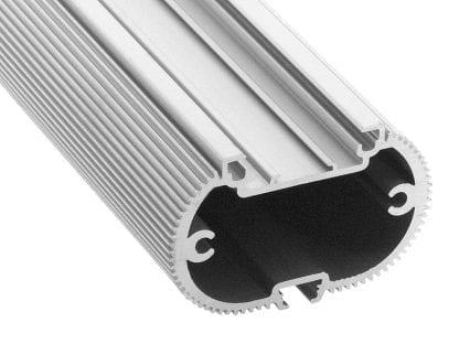 LED Aluminium Profil SVETOCH MINI für Industrie, Gewerbe und Büro Beleuchtung mit Führungsschiene für LED-Streifen und LED-Module