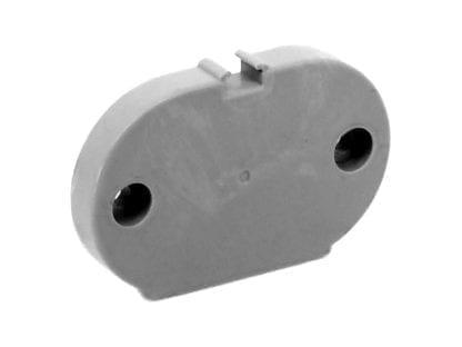 Außenansicht Endkappe LED Aluminium Profil SVETOCH MINI für Industrie, Gewerbe und Büro Beleuchtung