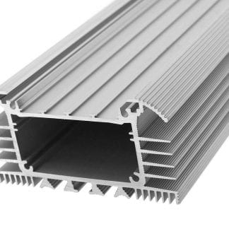 Heat sink aluminum profile SVETOCH UNIVERS for LED lighting in industry and halls