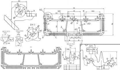 technische Zeichnung SVETOCH SVETOCH