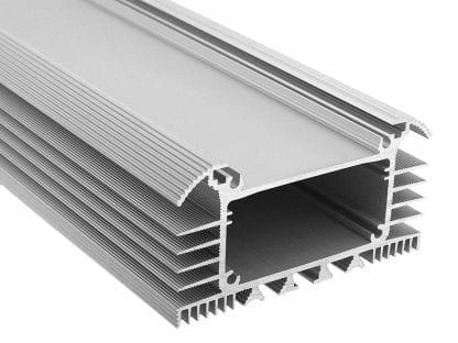 Perfil de aluminio LED SVETOCH UNIVERSE PLANE para iluminación LED en la industria y el comercio