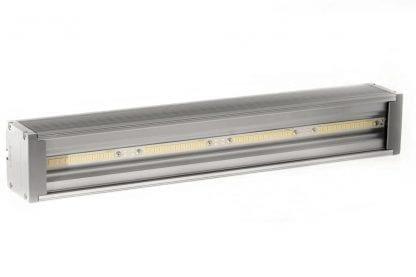 Anwendungsbeispiel LED Leuchte aus den Komponenten der Serie SVETOCH QUADRO mit LED Streifen und LED Kühlkörper