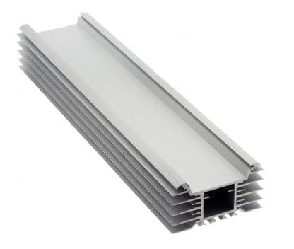 Kühlkörper Aluprofil SVETOCH INDUSTRY als Komponente für LED Leuchten für den Einsatz von breiten LED Modulen