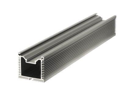 Kühlkörper Aluminiumprofil SVETOCH QUADRO mit passiver Wärmeableitung für LED-Leuchten in Industrie- und Gewerbe-Beleuchtung