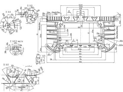 technische Zeichnung SVETOCH UNIVERS