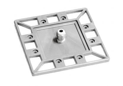 Tapa final perfil PROFI con guía de cable PG7 para cuerpo de enfriamiento de aluminio de alto rendimiento SVETOCH PROFI