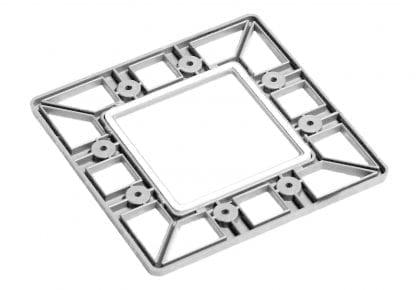 PROFI Profil-Endkappe mit Silikon-Abdichtung bis IP67 für Aluminium Hochleistungs-Kühlkörper SVETOCH PROFI