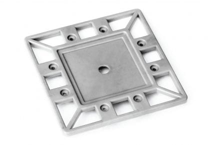 Casquillo de extremo perfil PROFI para radiador de aluminio de alta potencia SVETOCH PROFI