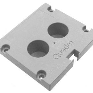 Profil-Endkappe SVETOCH Quadro für Aluminium-Profile für LED-Leuchten