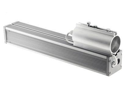 Luce LED con attacco a tubo DUO della serie SVETOCH QUADRO
