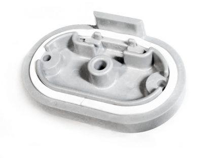 Endkappe für Aluminiumprofil aus der Serie SVETOCH SOLO mit Silikonstreifen zur Abdichtung