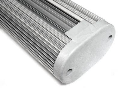 Endkappe und Aluminumprofil für LED Beleuchtung aus der Serie SVETOCH SOLO