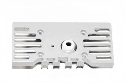 Aussenansicht Endkappe für LED Aluminiumprofil SVETOCH STRADA mit PG7