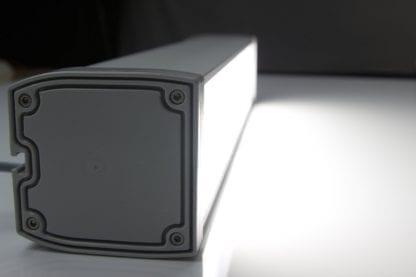Profil-Endkappe für LED Leuchte aus Komponenten der Serie SVETOCH LINE
