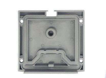 Vista interna profilo in alluminio LED con fondello SVETOCH QUADRO