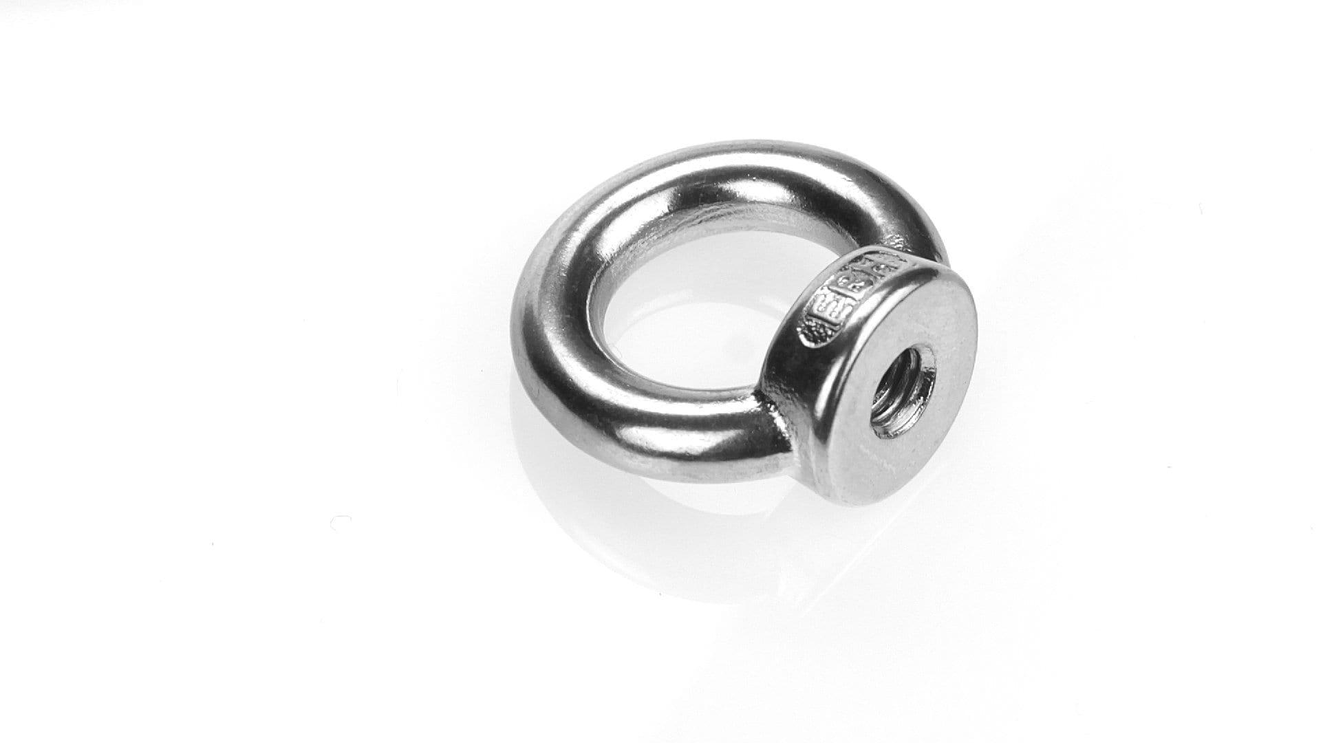 Ringmutter DIN 582 Edelstahl A2 gegossen Augenmutter Ösenmutter